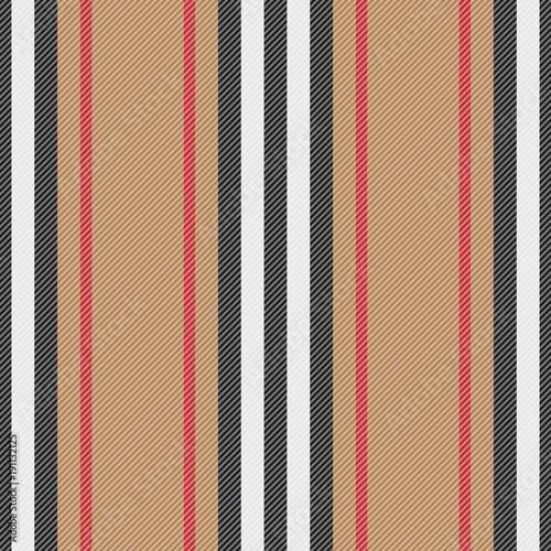 Cotton fabric Striped Fashion Seamless Pattern