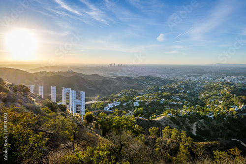 Behind the Hollywood Sign Canvas Print