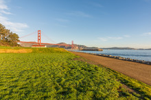 Crissy Field And The Golden Gate