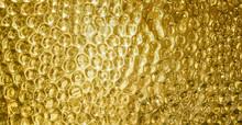 Gold Shiny Hammered Metal Back...