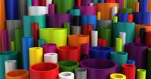 Colorful Industrial Plastic Pi...