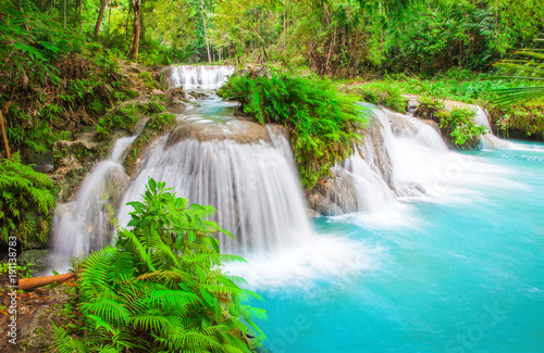 Photo sur Aluminium Cascade waterfall of island of Siquijor. Philippines