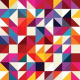 Wzór geometryczny kształt trójkąta. - 191139179
