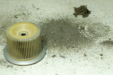 Dirty Separator Vacoom Equipment Part With Dust