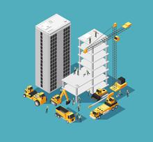 Building Construction Vector 3...