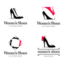 Vector Logo Design For Shoes Shop