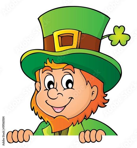 Deurstickers Voor kinderen Lurking leprechaun topic image 1