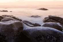 Misty Rocks 3