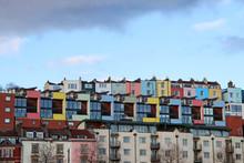 Colourful Houses, Bristol, UK