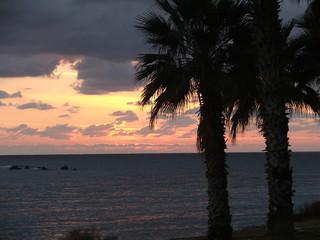 Fototapeta na wymiar zachód słońca (sun set)