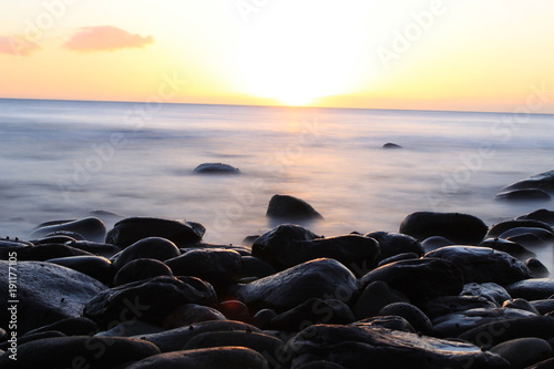 Fotografering  Maspalomas longexpo sunset
