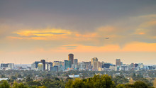 Adelaide City Skyline View At ...