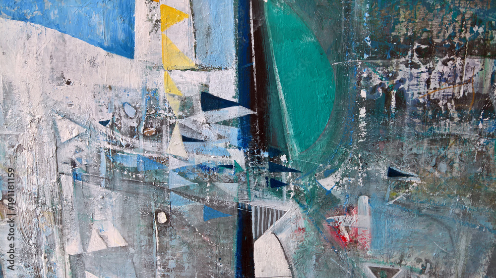 Modern abstract painting-background