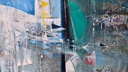 FototapetaModern abstract painting-background