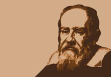 Galilée - Savant - Portrait - Personnage Historique - Astronome - Mathématicien - Physicien
