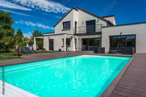 Foto belle maison contemporaine