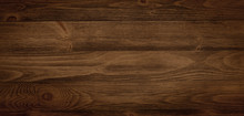 Dark Stained Wood Boards With ...