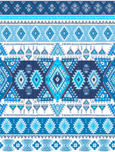 Geometric Aztec Pattern. Triba...