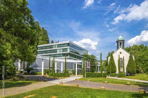 Caracalla Therme Baden Baden Buy This Stock Photo And