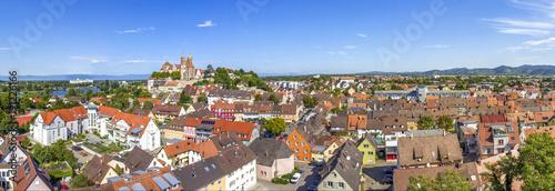 Fotografie, Obraz  Breisach am Rhein, Blick vom Eckartsberg über die Altstadt mit Münster