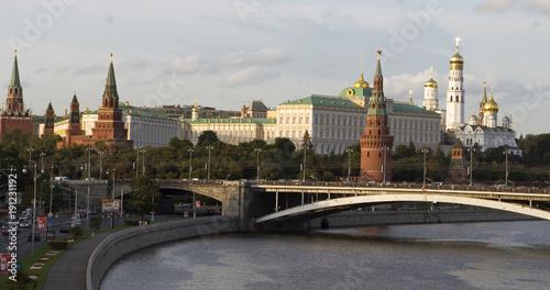 Fototapety, obrazy: Moscow Kremlin classic scenic view daytime