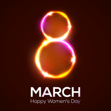 Happy Womens Day. 8 March In N...