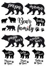 Mama Bear, Papa Bear, Baby Bea...