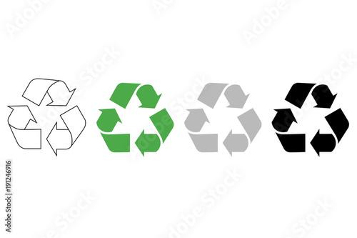 Recykling - fototapety na wymiar