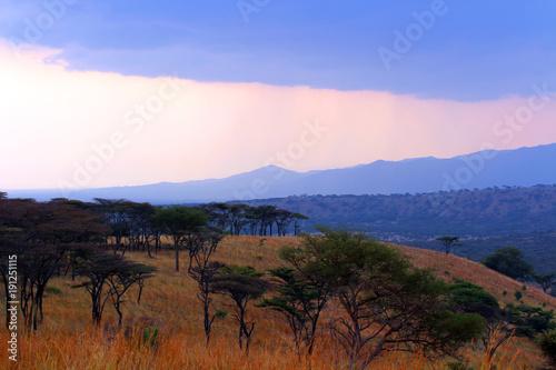 Fotobehang Afrika Wunderschöne Weiten von Afrika