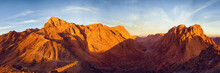 Amazing Sunrise At Sinai Mount...