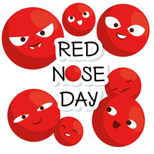 Red Nose Day With Red Nose Clo...