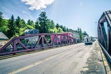 Ketchikan Alaska Downtown Of A...