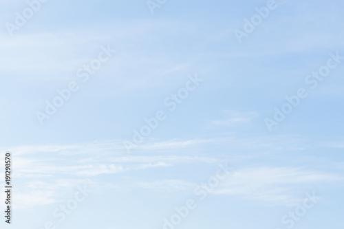 Fotografie, Obraz  Pale cloudy sky background rain .