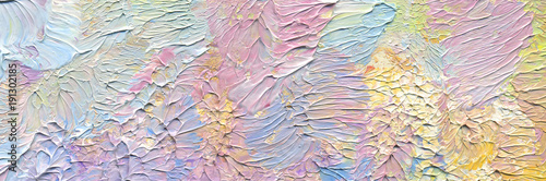 Highly-textured colorful abstract painting background. Brush stroke. Natural texture of oil paint. High quality details. Can be used  for web design, art print, textured fonts, figures, shapes, etc.