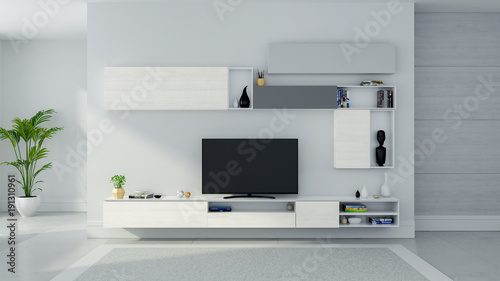 Tv Cabinet Interior Modern Roon Design And Cozy Living Style Wood