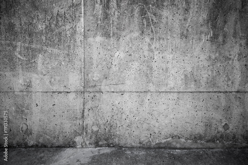 Foto op Canvas Betonbehang Dark abstract empty interior background
