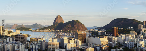 View over Botafogo towards Sugarloaf Mountain, Rio de Janeiro, Brazil