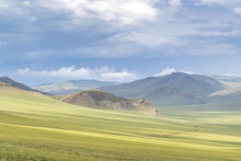 Landscape Of The Green Mongoli...