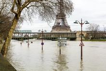 The Swollen Seine During The W...