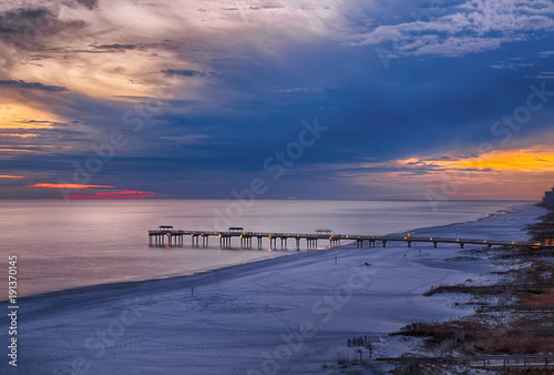 Photo Sunset on Orange Beach, Alabama