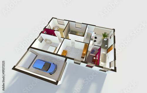 Plan Aménagement Intérieur Du0027une Maison Individuelle