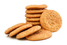 Stack Of Snickerdoodles Over W...