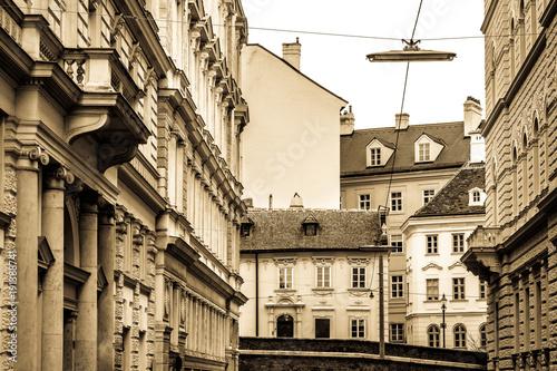 Staande foto Oude gebouw vienna - austria