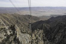 View From The Gondola Of The Palm Springs Aerial Tramway