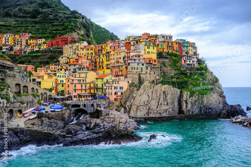 Photo  Manarola village, Cinque Terre, Italy