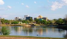 Downtown Midland, Texas On A S...