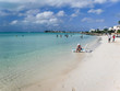 photo of relaxing woman in Sapodilla Bay, Providenciales, Turks and Caicos