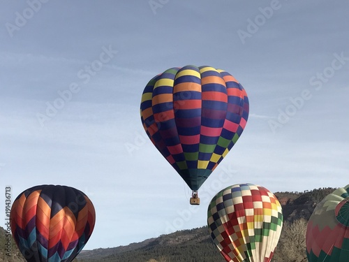 Fotografie, Obraz  hot air balloon ascent