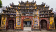 gate of the Imperial City, Hue, Vietnam
