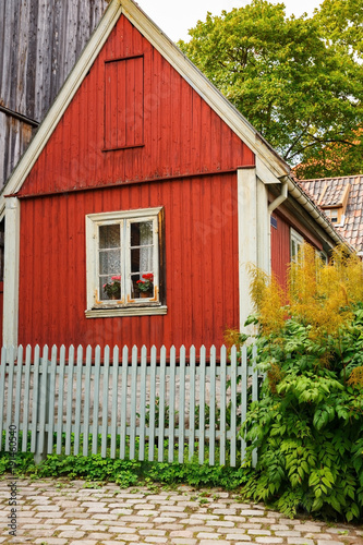 Photo  Traditional old house in Oslo
